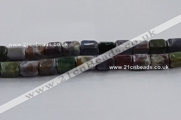CNG6411 15.5 inches 15*20mm faceted nuggets Indian agate beads