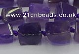 CNG6818 15.5 inches 5*8mm - 8*12mm nuggets amethyst beads