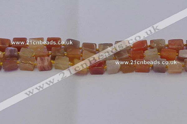 CNG6824 15.5 inches 5*8mm - 8*12mm nuggets sunstone beads