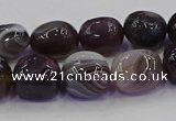 CNG6883 15.5 inches 8*12mm - 10*14mm nuggets botswana agate beads
