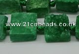 CNG7006 15.5 inches 14mm - 16mm freeform druzy agate beads