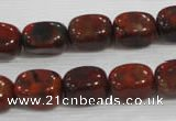 CNG719 15.5 inches 10*14mm nuggets brecciated jasper beads wholesale