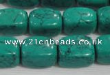 CNG731 15.5 inches 15*18mm nuggets synthetic turquoise beads wholesale