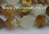 CNG7372 15.5 inches 10mm faceted nuggets mixed opal beads