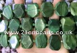 CNG7478 18*25mm - 20*28mm faceted freeform african jade beads