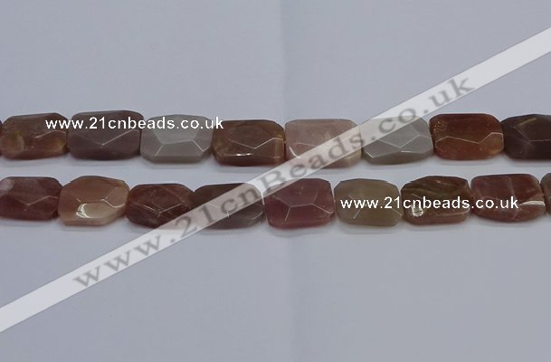 CNG7486 15.5 inches 18*25mm - 20*30mm faceted freeform sunstone beads