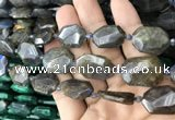 CNG7819 15.5 inches 13*18mm - 18*25mm faceted freeform labradorite beads