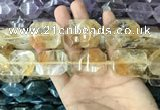 CNG7828 15.5 inches 22*30mm - 28*35mm faceted freeform citrine beads