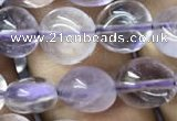 CNG8030 15.5 inches 8*10mm nuggets light amethyst beads wholesale