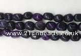 CNG8206 15.5 inches 12*16mm nuggets agate beads wholesale