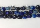 CNG8212 15.5 inches 12*16mm nuggets agate beads wholesale