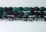 CNG8263 15.5 inches 13*18mm nuggets agate beads wholesale