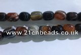 CNG8319 15.5 inches 15*20mm nuggets striped agate beads wholesale