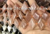 CNG8638 13*20mm - 15*25mm faceted freeform moonstone beads