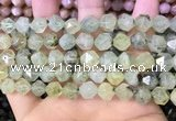 CNG8729 15.5 inches 8mm faceted nuggets prehnite gemstone beads