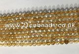 CNG9053 15.5 inches 6mm faceted nuggets citrine gemstone beads