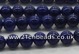 CNL1000 15.5 inches 4mm round AA grade natural lapis lazuli beads