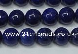CNL1253 15.5 inches 8mm round natural lapis lazuli beads