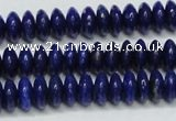CNL1261 15.5 inches 4*8mm rondelle natural lapis lazuli beads