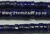 CNL1267 15.5 inches 5*8mm tyre natural lapis lazuli beads