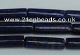 CNL1510 15.5 inches 6*20mm tube lapis lazuli beads wholesale