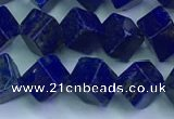 CNL1670 15.5 inches 7*7mm cube lapis lazuli gemstone beads