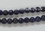 CNL206 15.5 inches 6mm round natural lapis lazuli beads wholesale