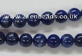 CNL210 15.5 inches 8mm round natural lapis lazuli beads wholesale