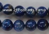 CNL219 15.5 inches 12mm round natural lapis lazuli beads wholesale