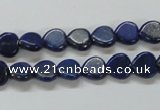 CNL242 15.5 inches 8*8mm heart natural lapis lazuli beads wholesale