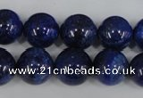 CNL407 15.5 inches 14mm round natural lapis lazuli gemstone beads