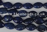 CNL491 15.5 inches 8*12mm marquise natural lapis lazuli gemstone beads