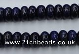 CNL612 15.5 inches 6*10mm rondelle natural lapis lazuli gemstone beads