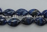 CNL951 15.5 inches 10*15mm marquise natural lapis lazuli gemstone beads