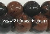 COB754 15.5 inches 12mm round mahogany obsidian beads wholesale