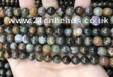 COJ492 15.5 inches 8mm round ocean jade beads wholesale