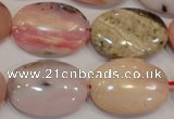 COP1026 15.5 inches 18*25mm oval natural pink opal gemstone beads