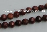 COP511 15.5 inches 8mm round red opal gemstone beads wholesale