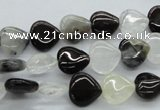 COZ24 15.5 inches 10*10mm heart opal quartz beads wholesale