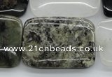 COZ27 15.5 inches 25*35mm rectangle opal quartz beads wholesale
