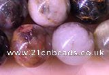CPB1026 15.5 inches 12mm round natural pietersite beads