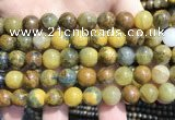 CPB1054 15.5 inches 12mm round golden pietersite beads wholesale