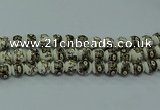 CPB713 15.5 inches 10mm round Painted porcelain beads