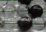 CPC04 15.5 inches 10mm round green phantom quartz beads wholesale