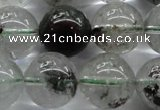 CPC05 15.5 inches 12mm round green phantom quartz beads wholesale