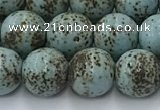 CPL102 15.5 inches 10mm round linden beads wholesale