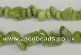 CPO40 15.5 inches 4*10mm – 10*12mm olivine chips beads wholesale