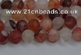 CPQ300 15.5 inches 4mm round matte pink quartz beads wholesale