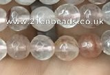CPQ311 15.5 inches 6mm faceted round pink quartz beads wholesale