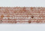 CPQ330 15.5 inches 6mm round pink quartz beads wholesale